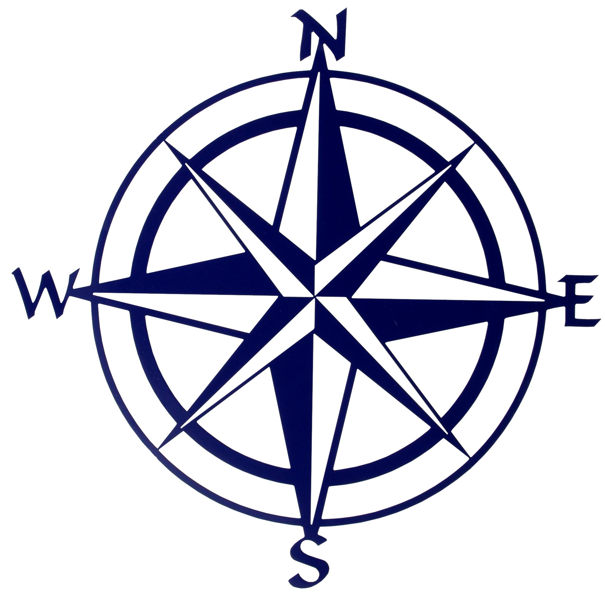 Blank Compass Rose