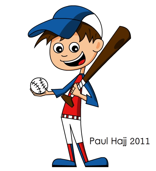Baseball Cartoon - Cliparts.co (500 x 548 Pixel)