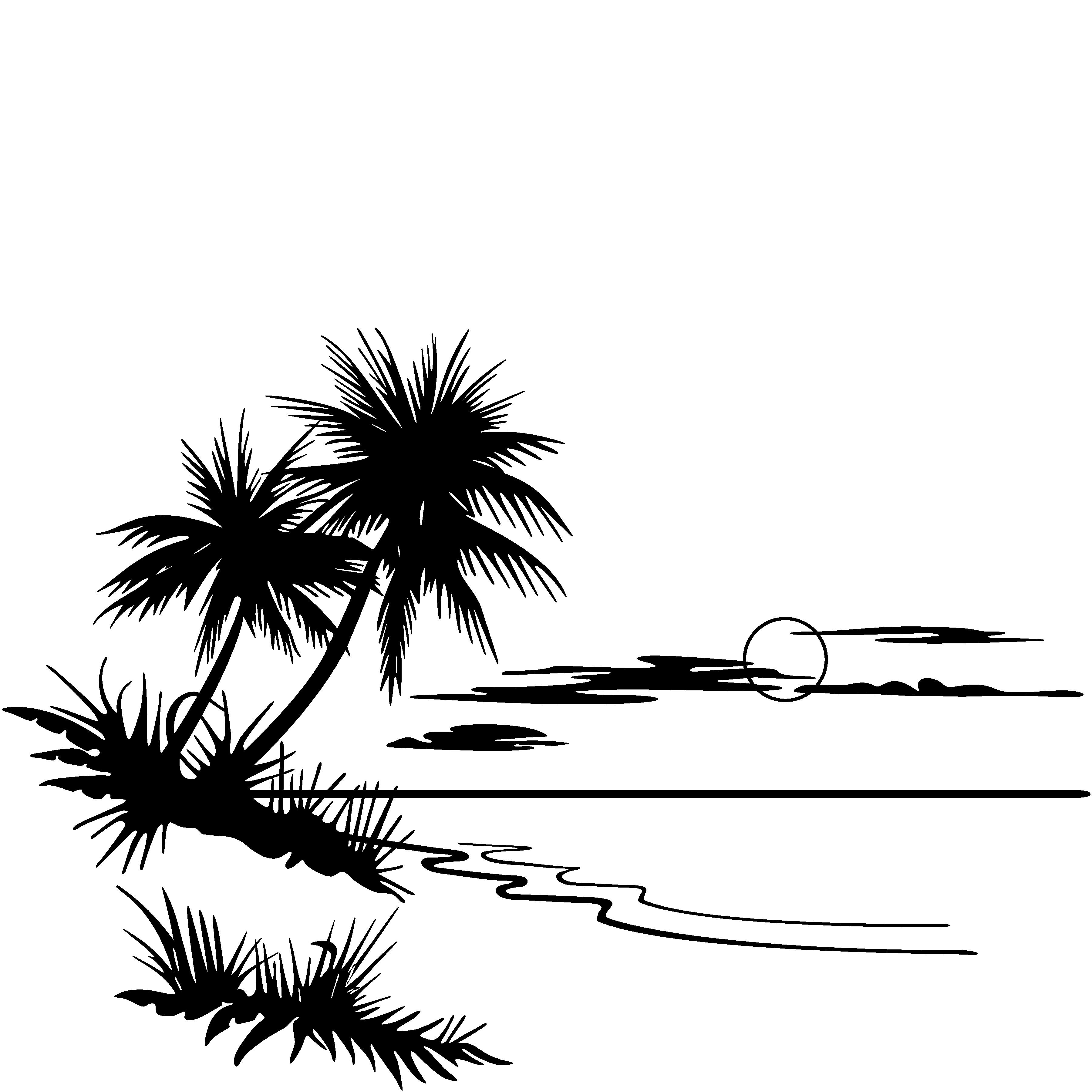 Beach Scenes Clip Art