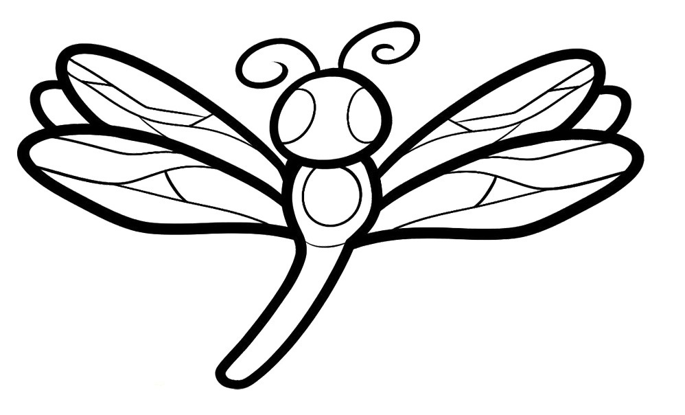 dragonfly pictures coloring pages cooloring com