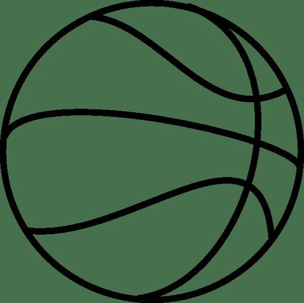 coloring book basketball clip art vector clip art online