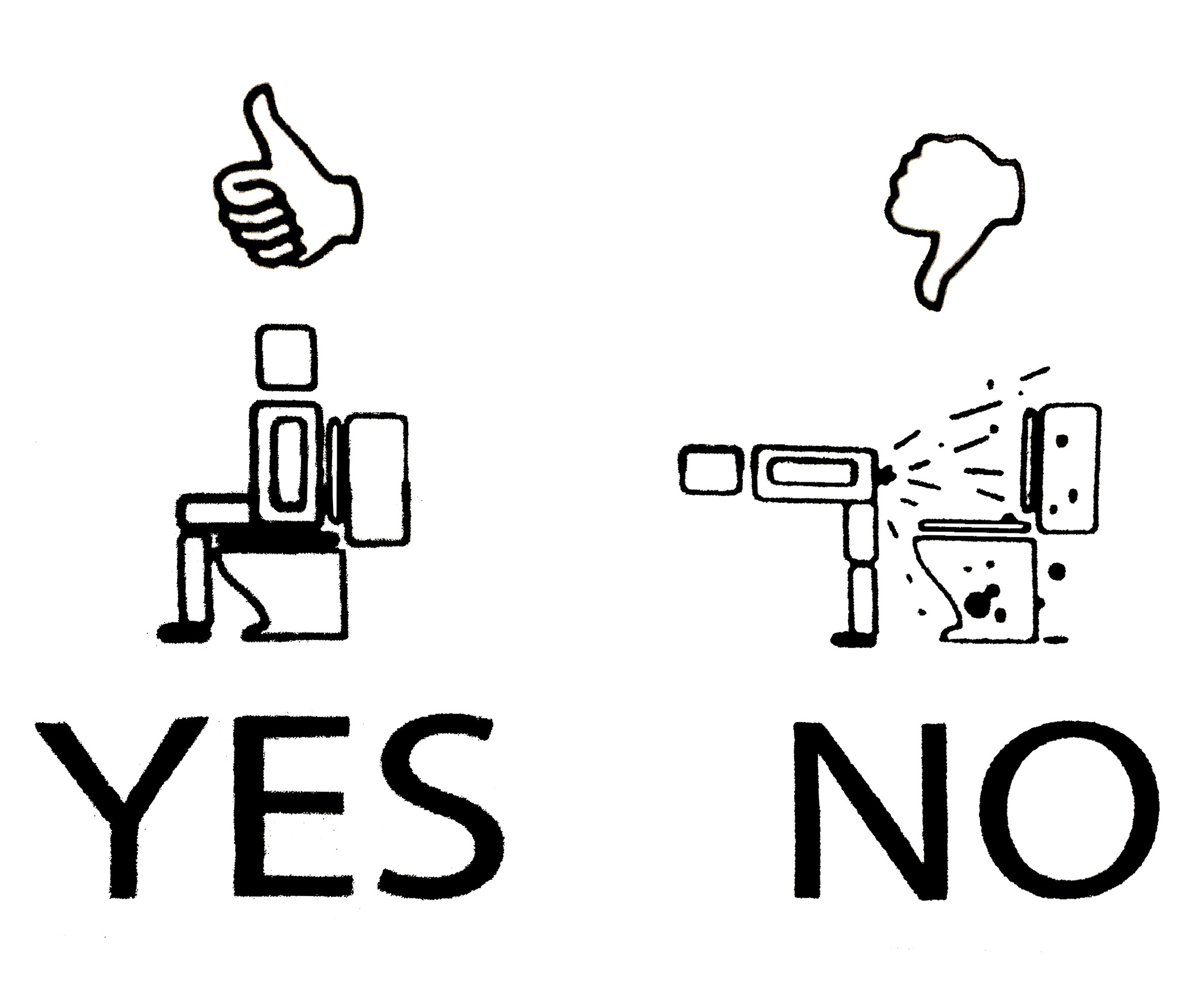 Printable Restroom Signs