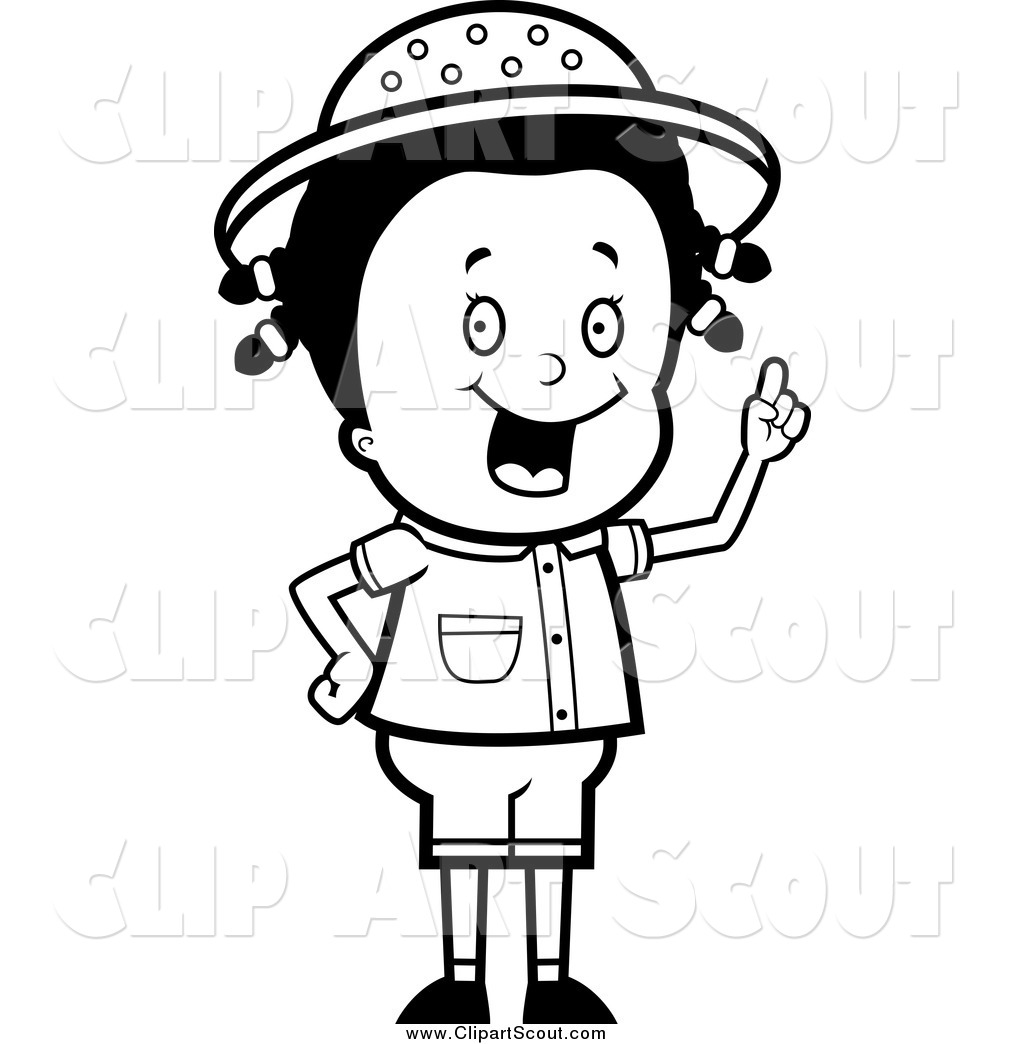 Royalty Free Person Stock Scout Designs