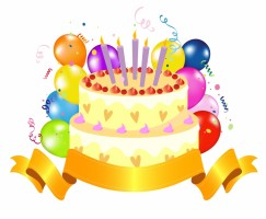 8Th Birthday Cake Clipart