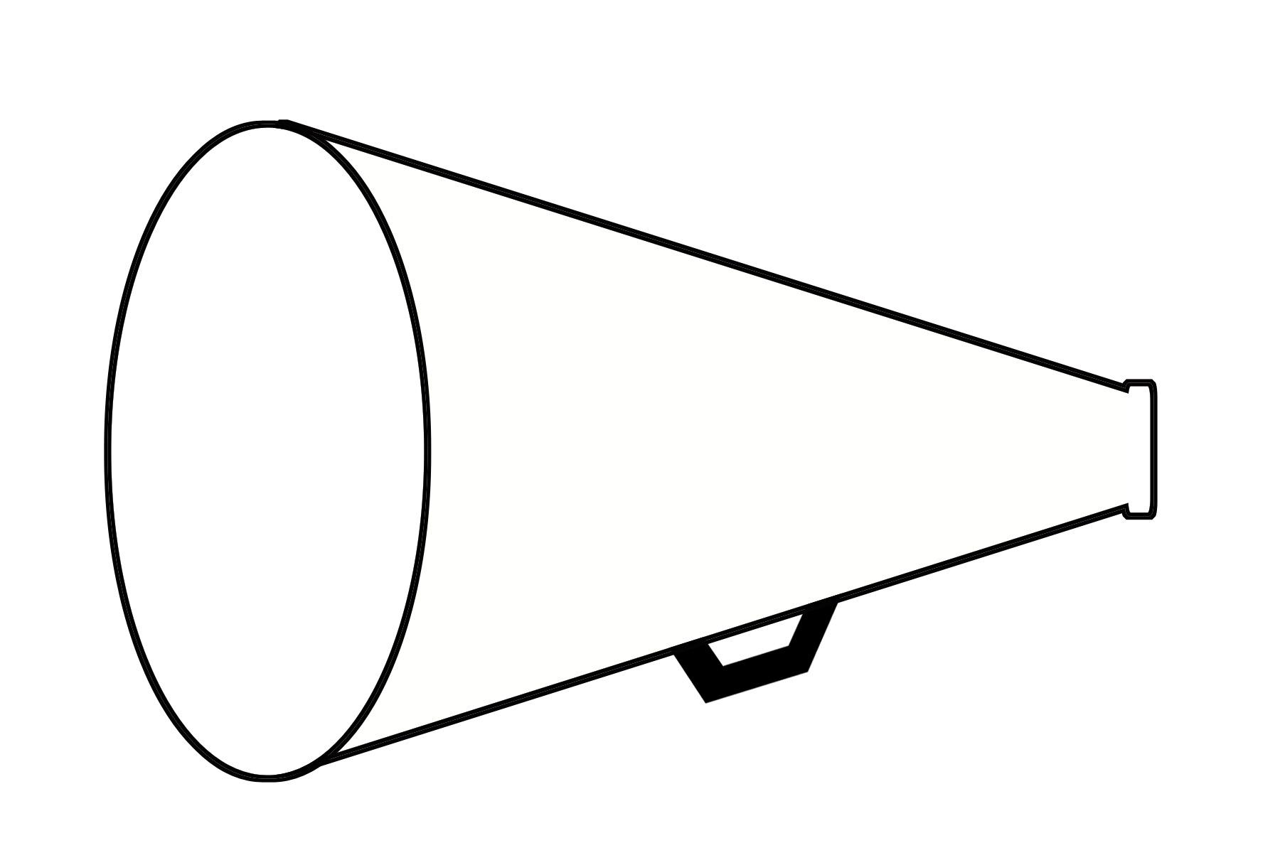 Megaphone Clipart 2 Image