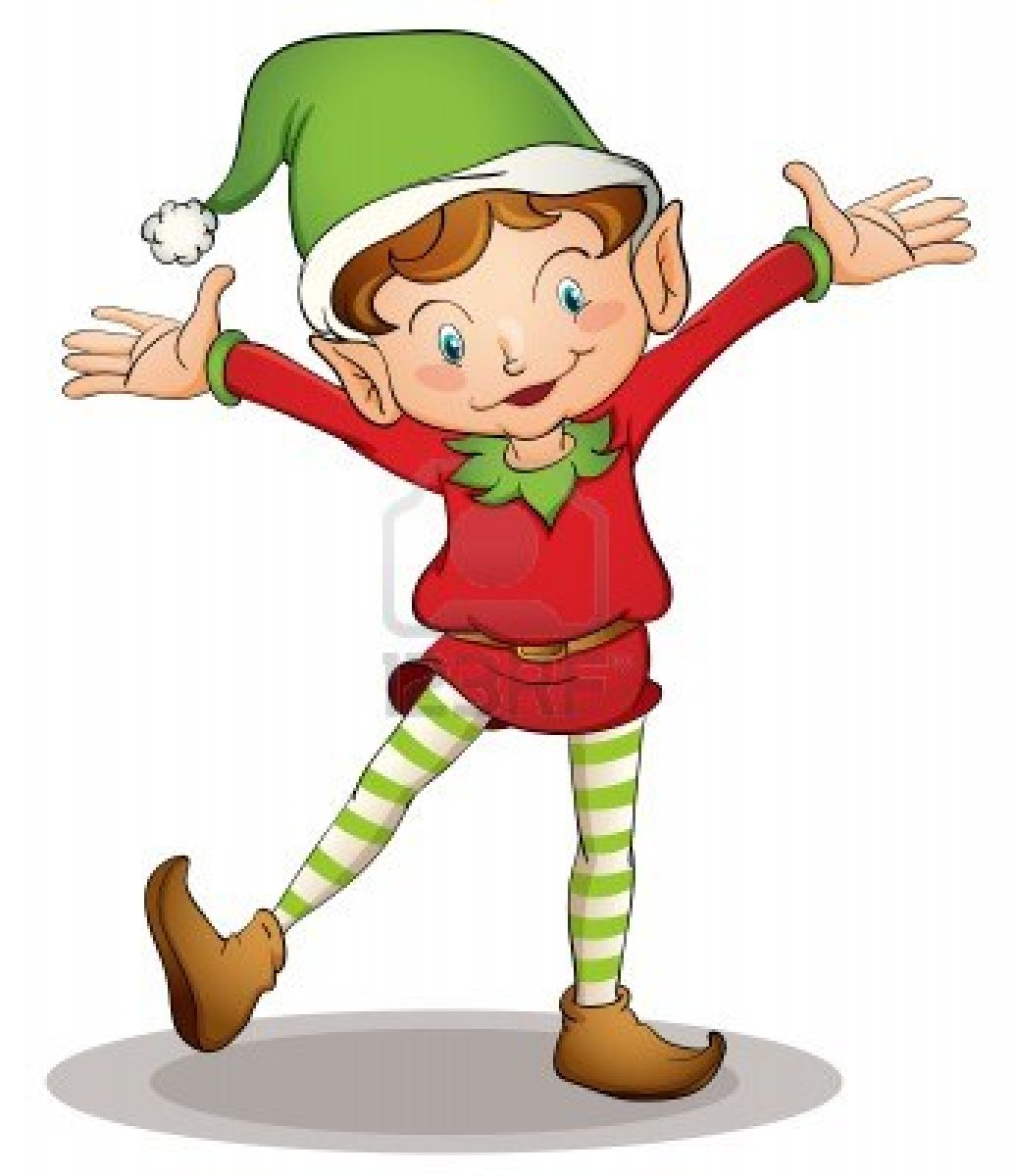 Christmas Elf Pictures Template Collection Clip Art Image