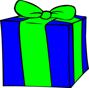 Present birthday t vector clip art image #15286 (300 x 297 Pixel)
