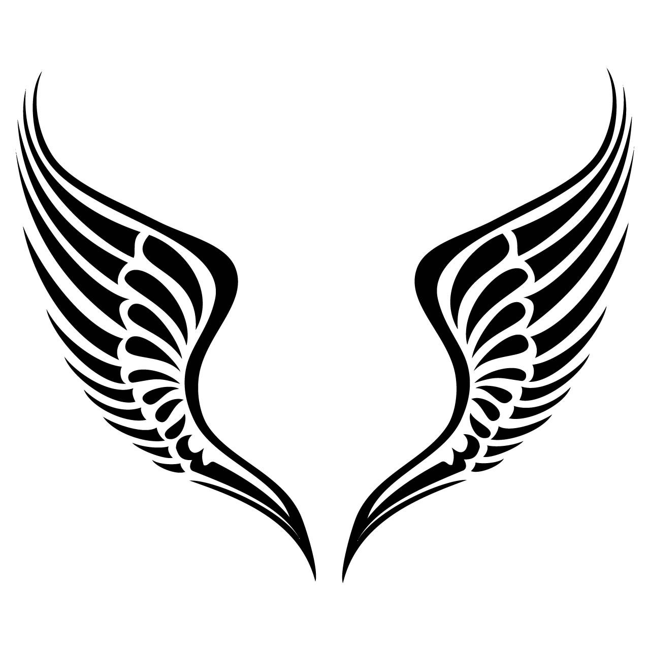 Angel Wings Pic Angel Simple Clip Art Image