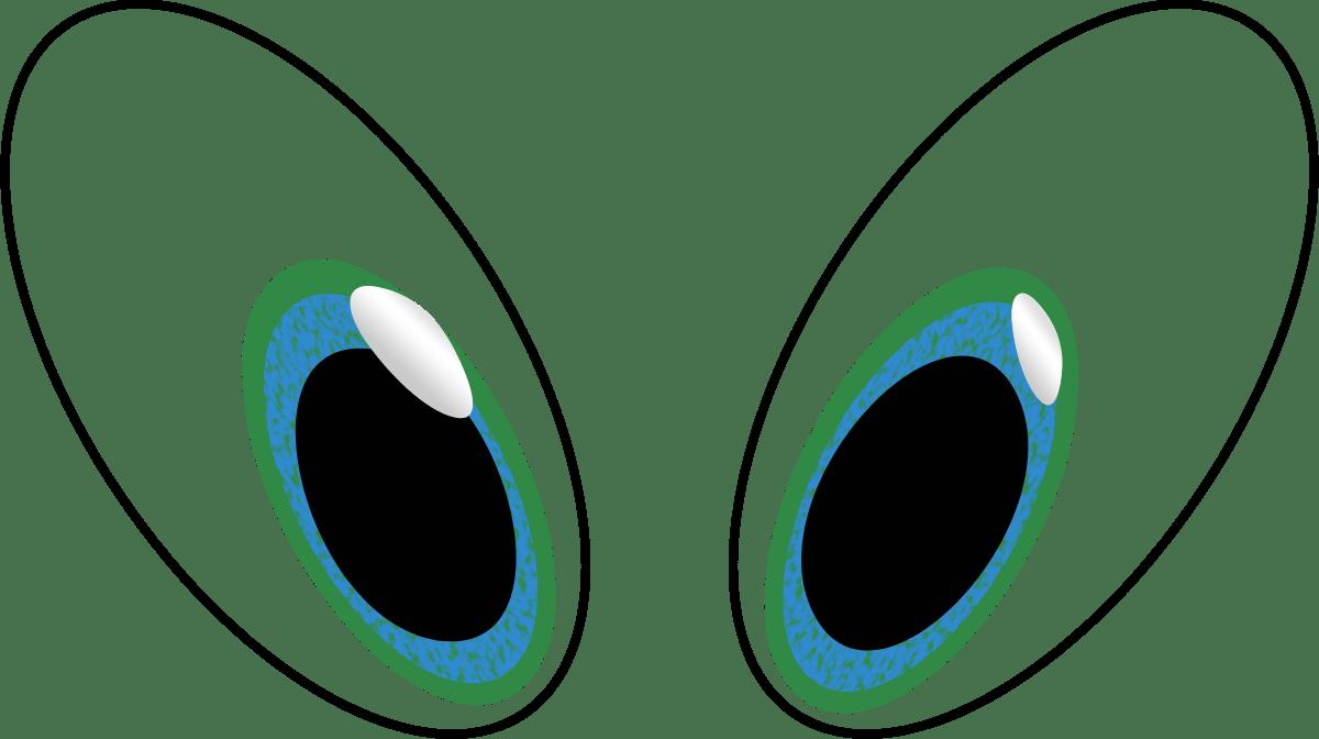 Eyeball Eye Clip Art Black And White Free Clipart Images 3