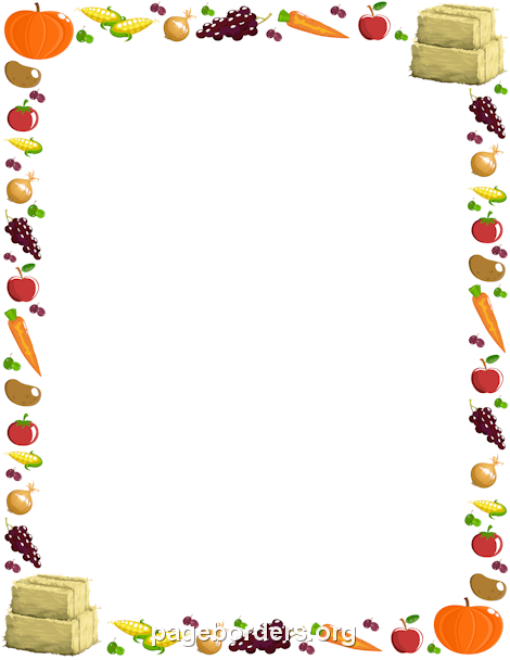 coloring page together with thanksgiving border paper on free autumn