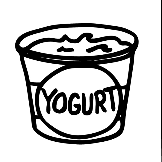 free coloring pages of frozen yogurt clipart image 37076