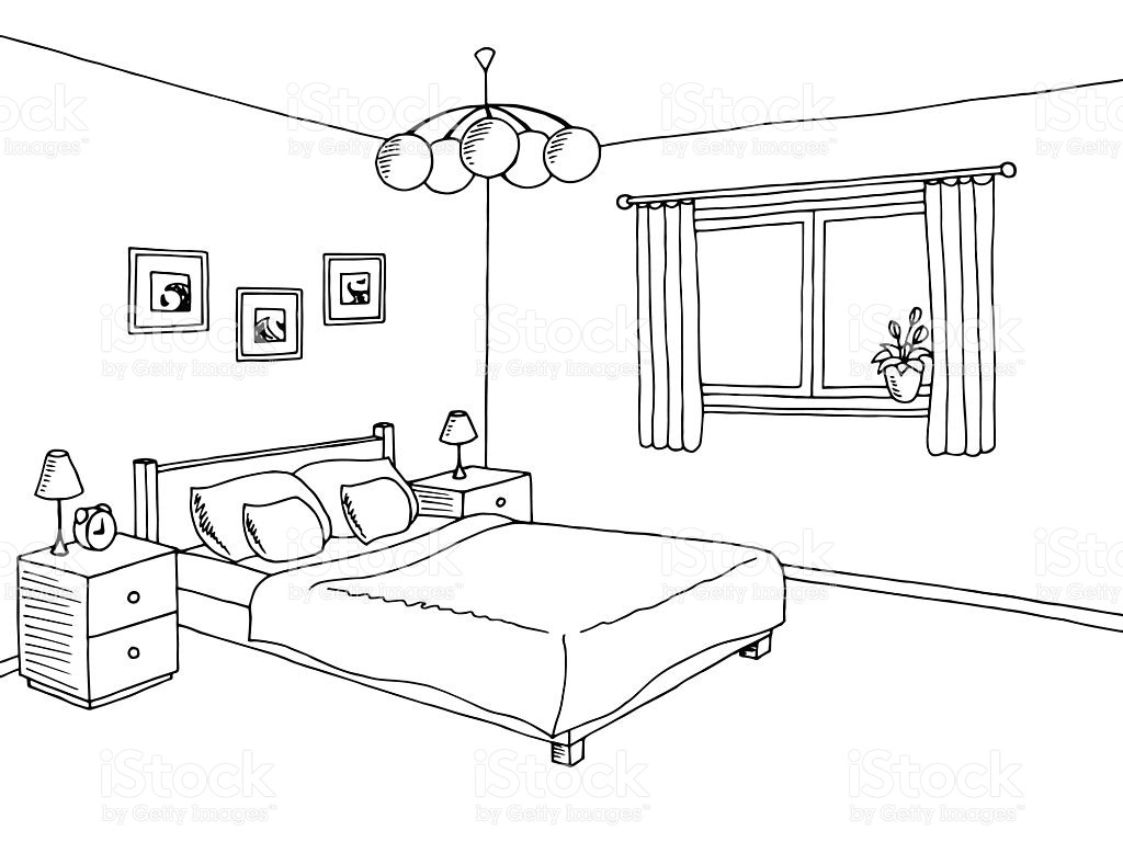 Bed Black And White Clipart 3 Clipart Station
