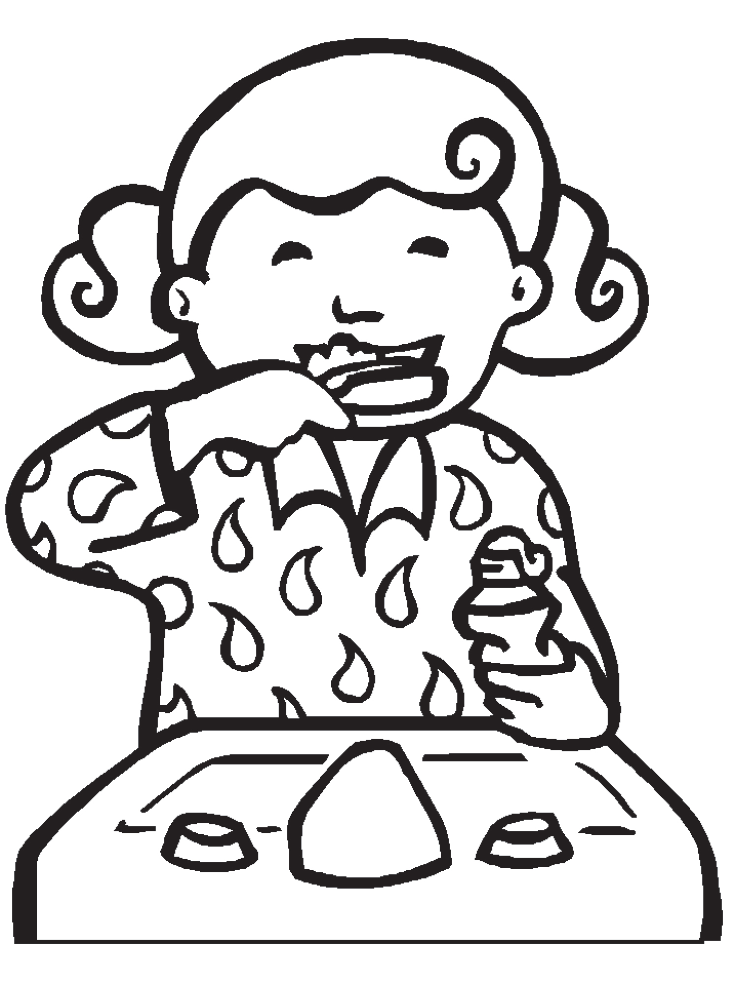Brushing Teeth Clipart Black And White 8 Clipart Station