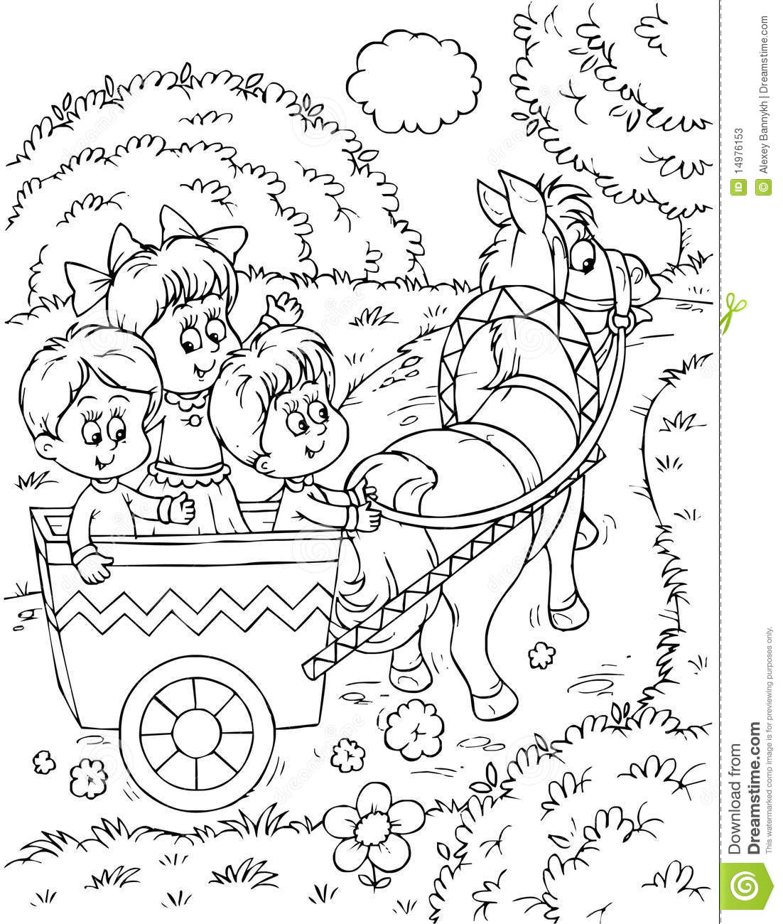 Children Park Clipart Black And White 3