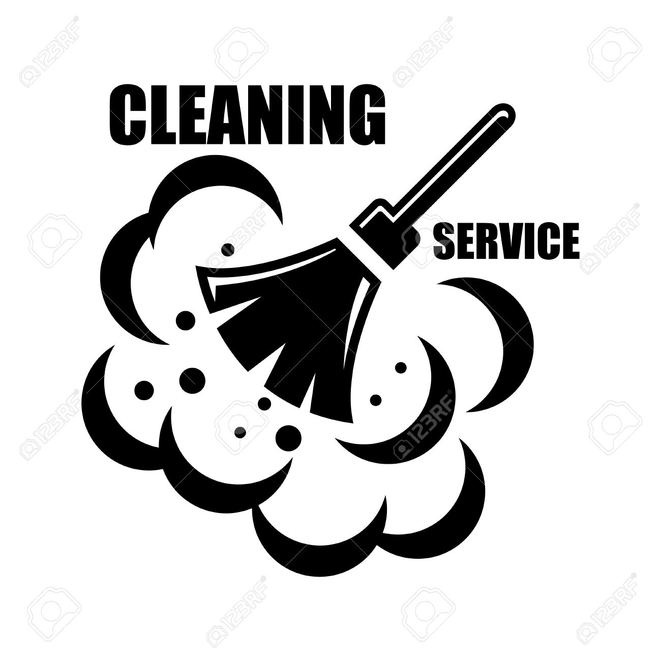 Vector Cleaning Service Icon Clipart Station