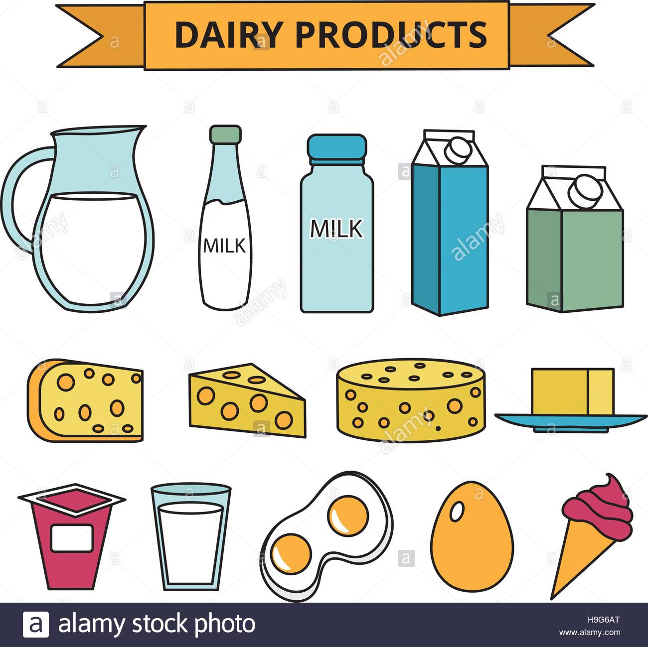Dairy Products Clipart 10 Clipart Station