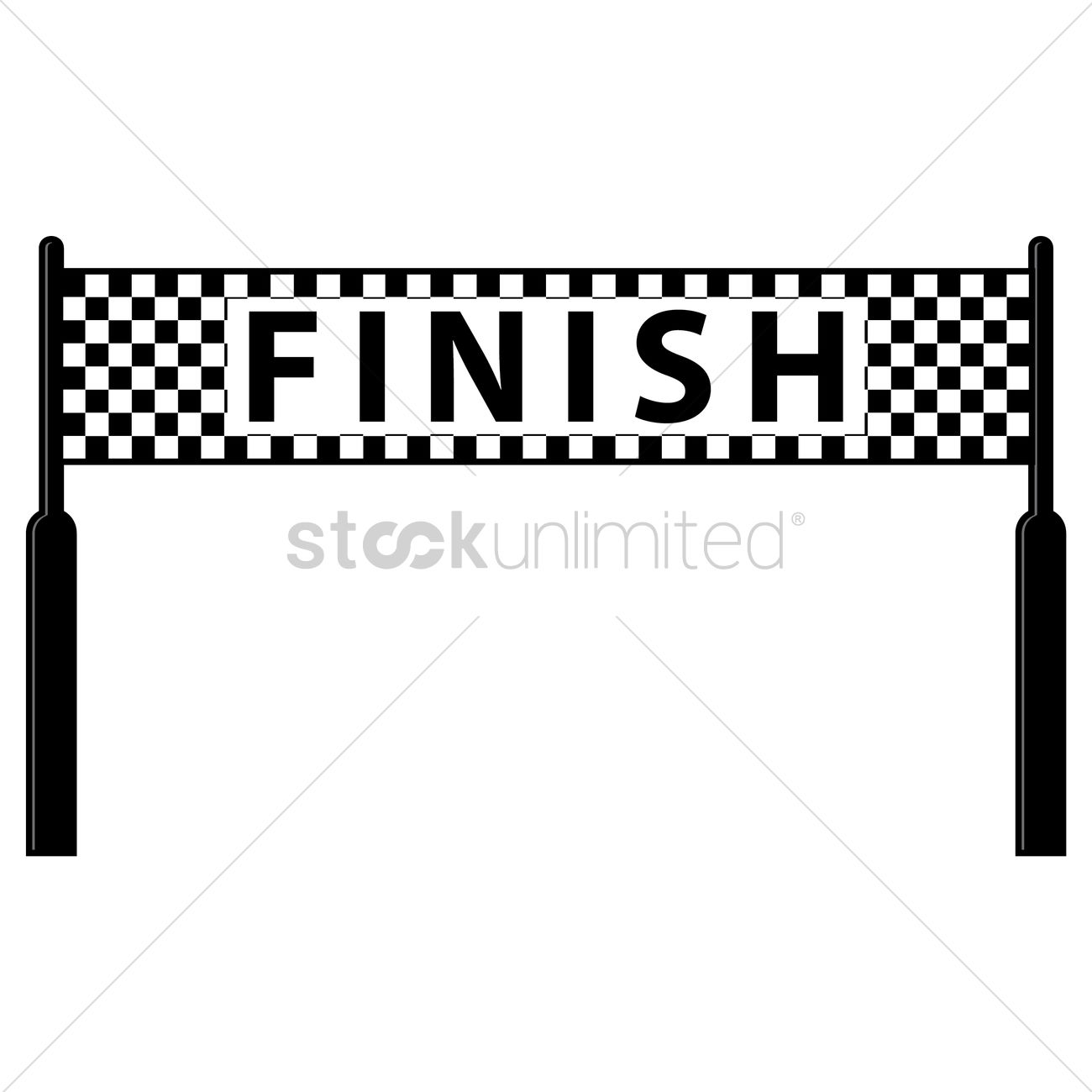 Finish Line Clipart 12 Clipart Station