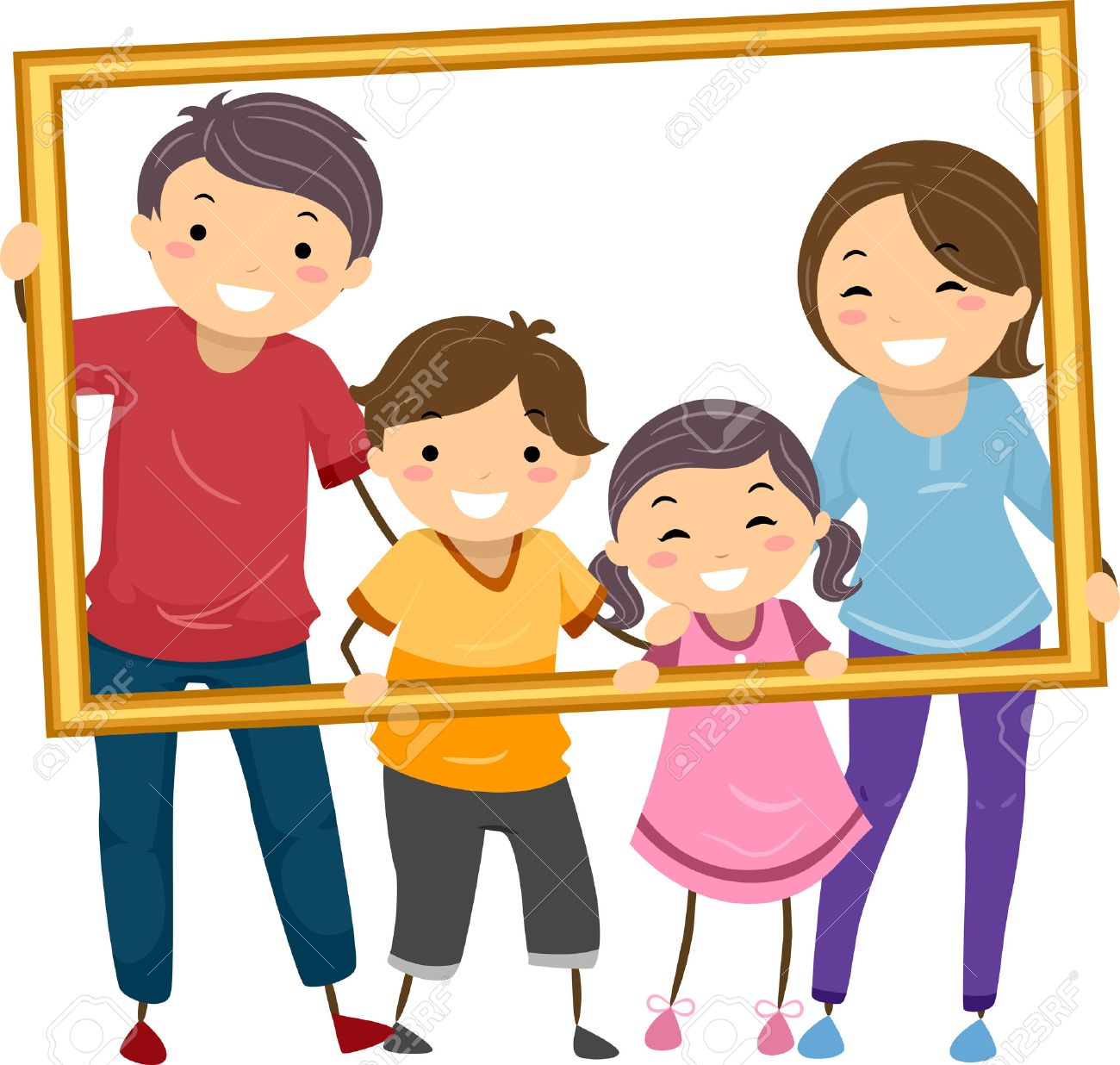happy family clipart 3   Clipart Station (1300 x 1236 Pixel)