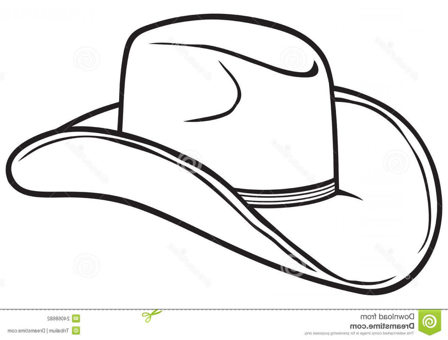Hat Black And White Clipart 7 Clipart Station