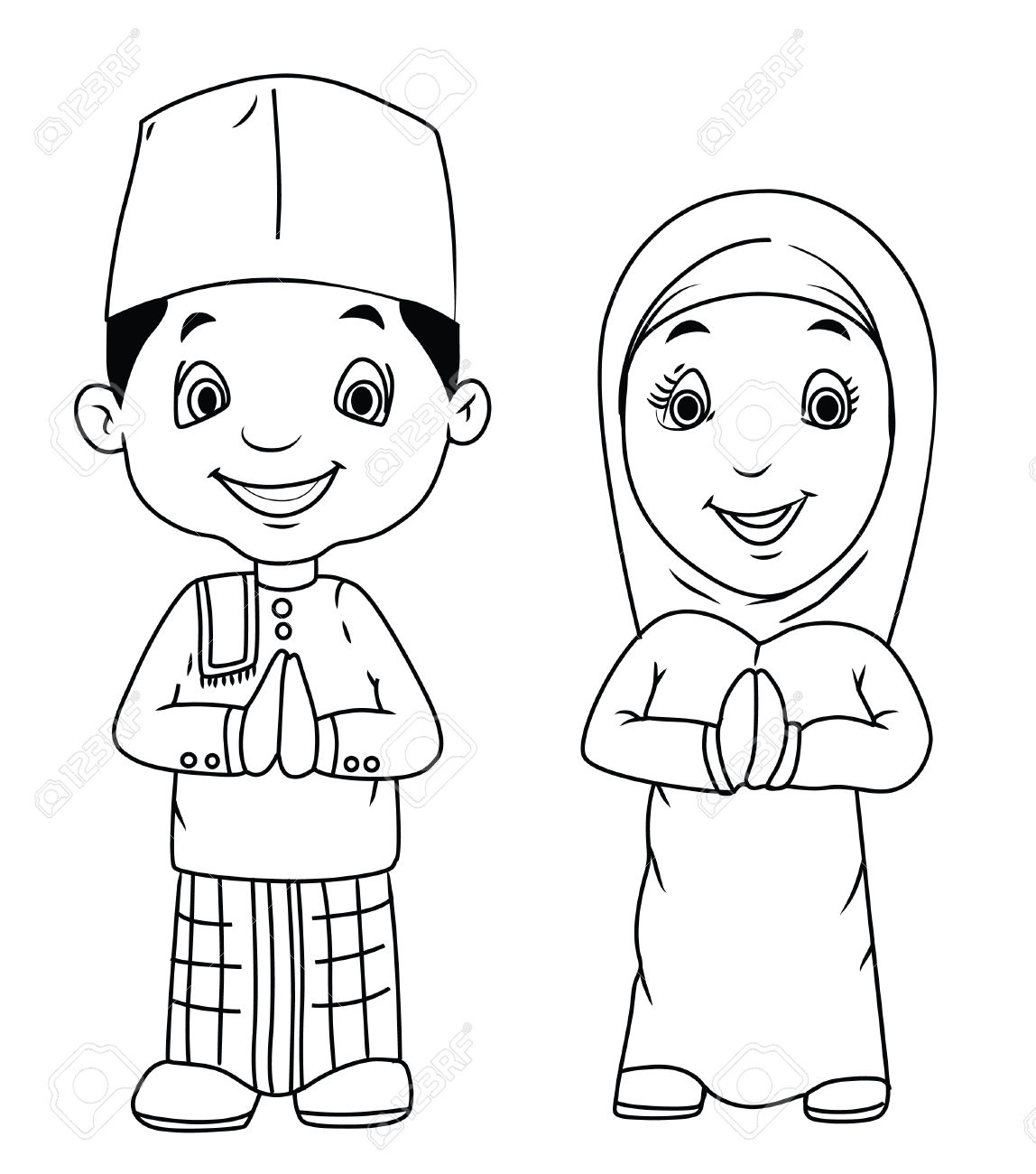 Islamic Clipart Black And White 4 Clipart Station