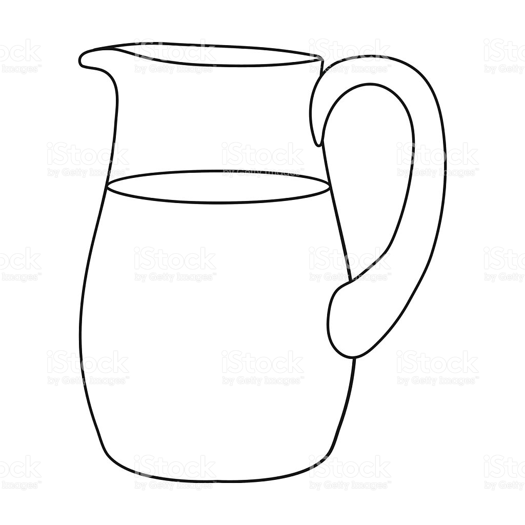 Jug Clipart Black And White 6 Clipart Station