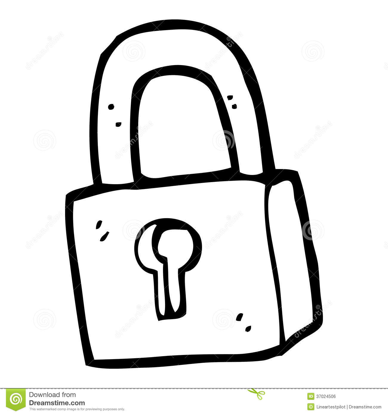 Lock Clipart Black And White 2 Clipart Station