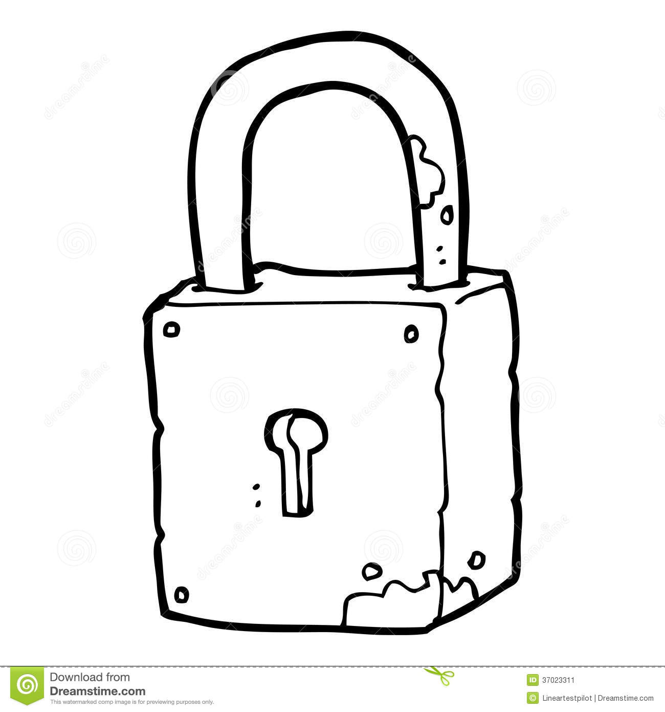 Lock Clipart Black And White 3 Clipart Station