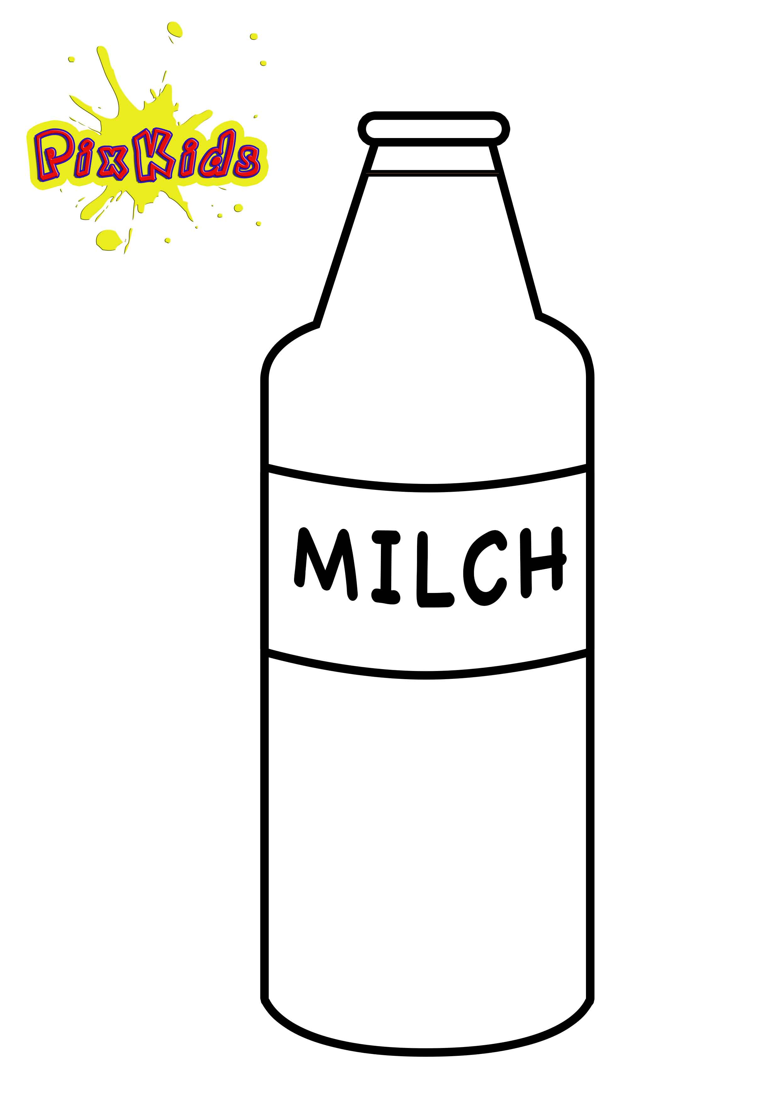 Milchflasche Clipart 9 Clipart Station