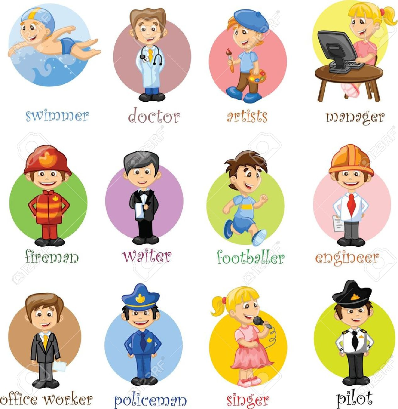 Occupations Clipart 10 Clipart Station