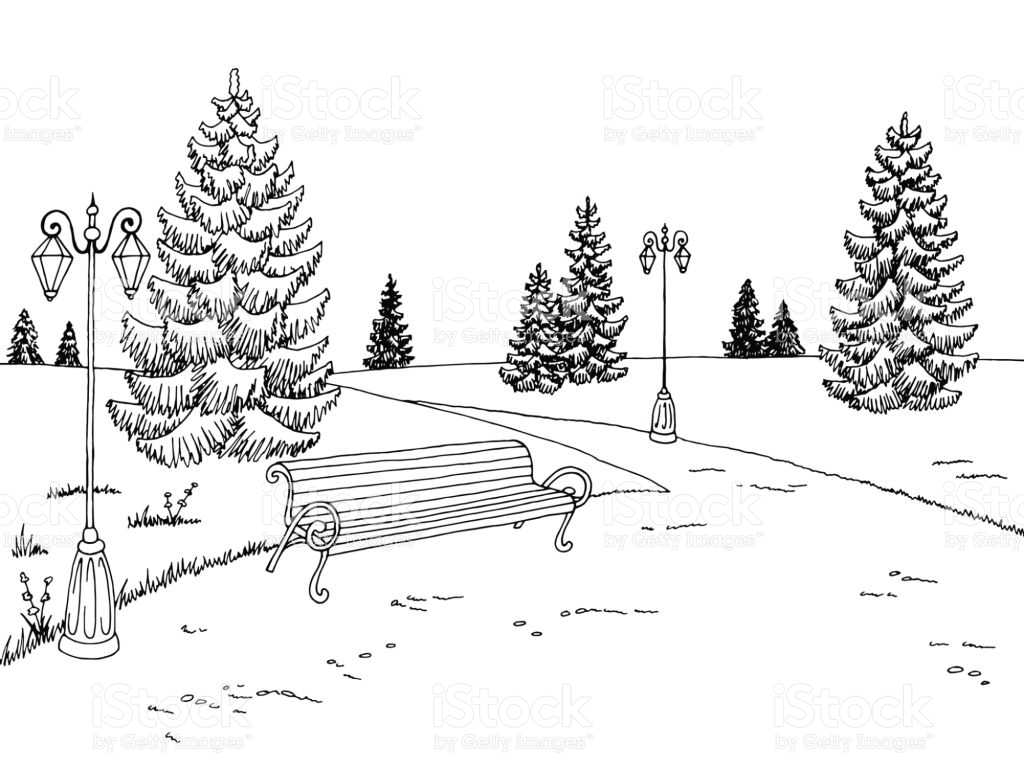 Park Clipart Black And White 1 Clipart Station