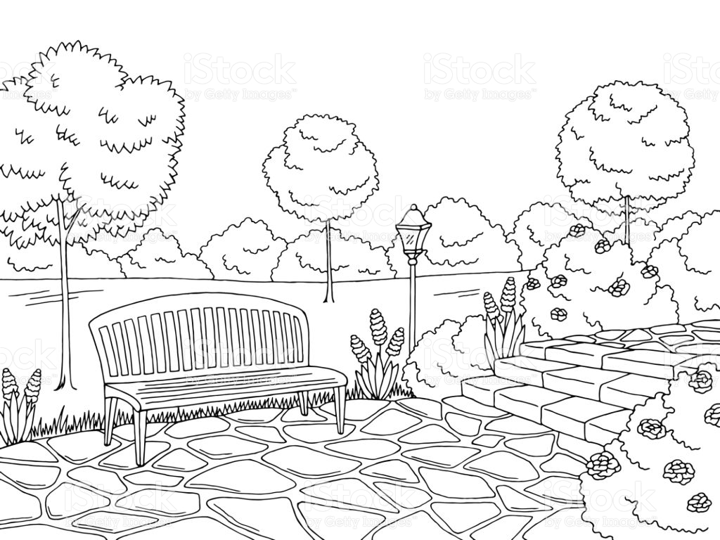 Park Clipart Black And White 4 Clipart Station