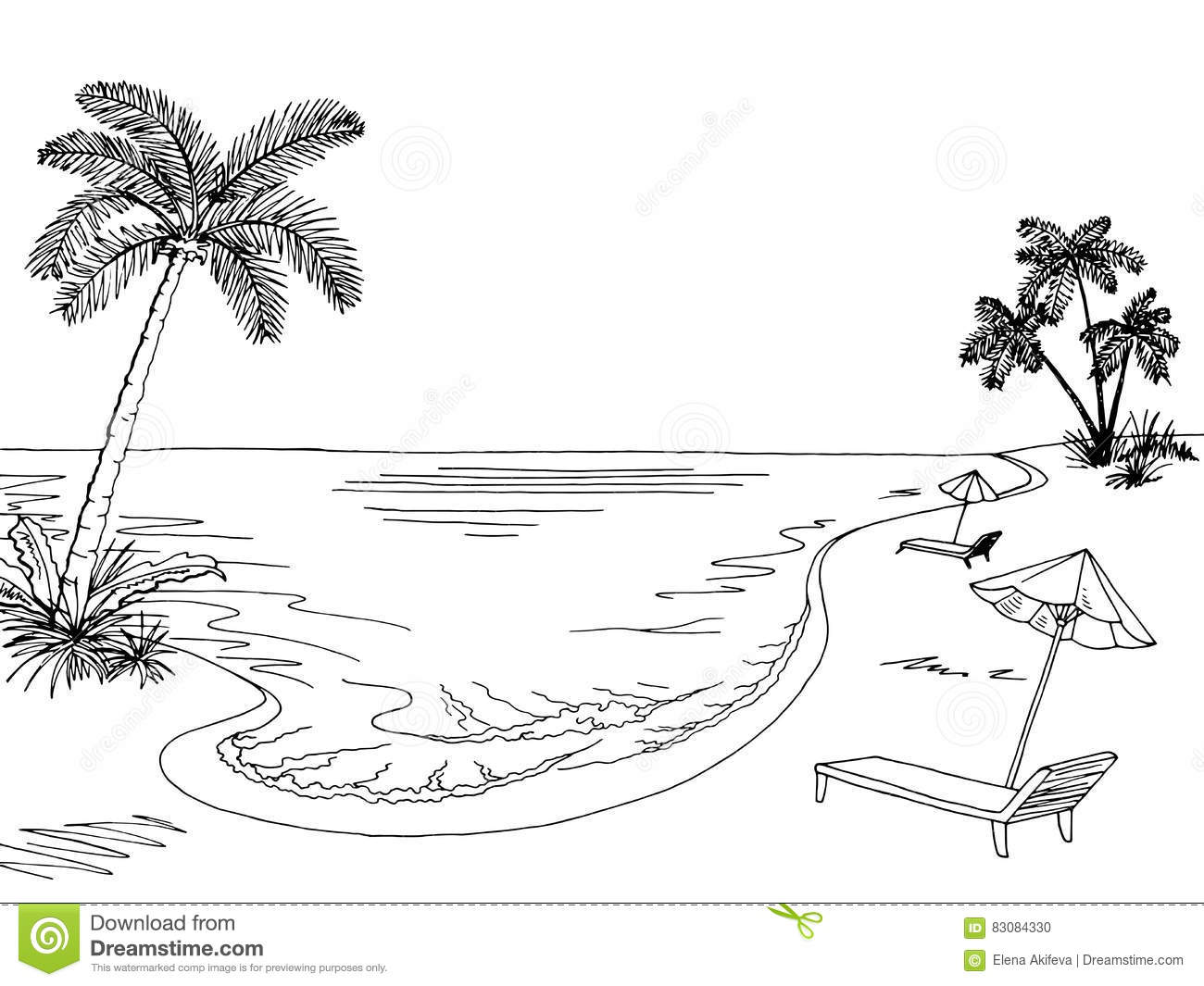 Sea Clipart Black And White 3 Clipart Station