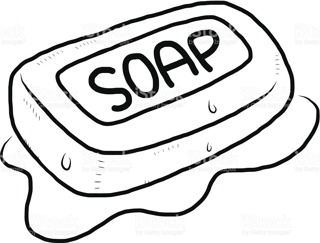Soap Clipart Black And White 6 Clipart Station
