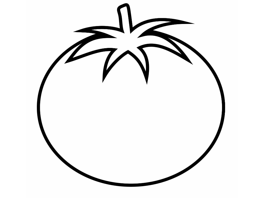 Tomato Clipart Black And White 3 Clipart Station