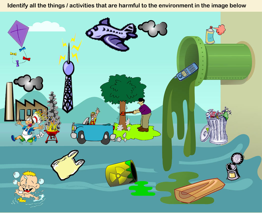 Water Pollution Clipart 4 Clipart Station