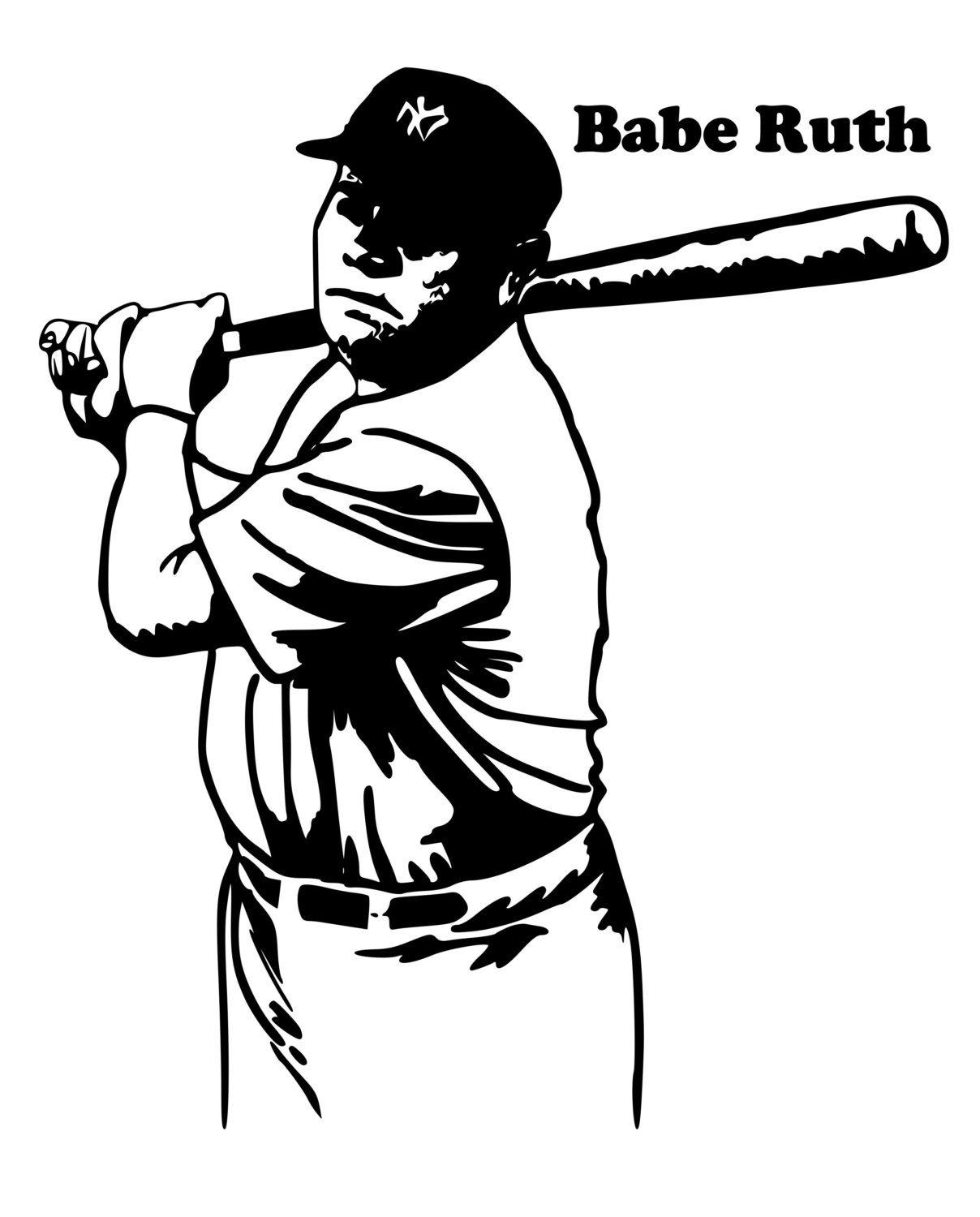 Babe Ruth Clipart 3 Clipart Station