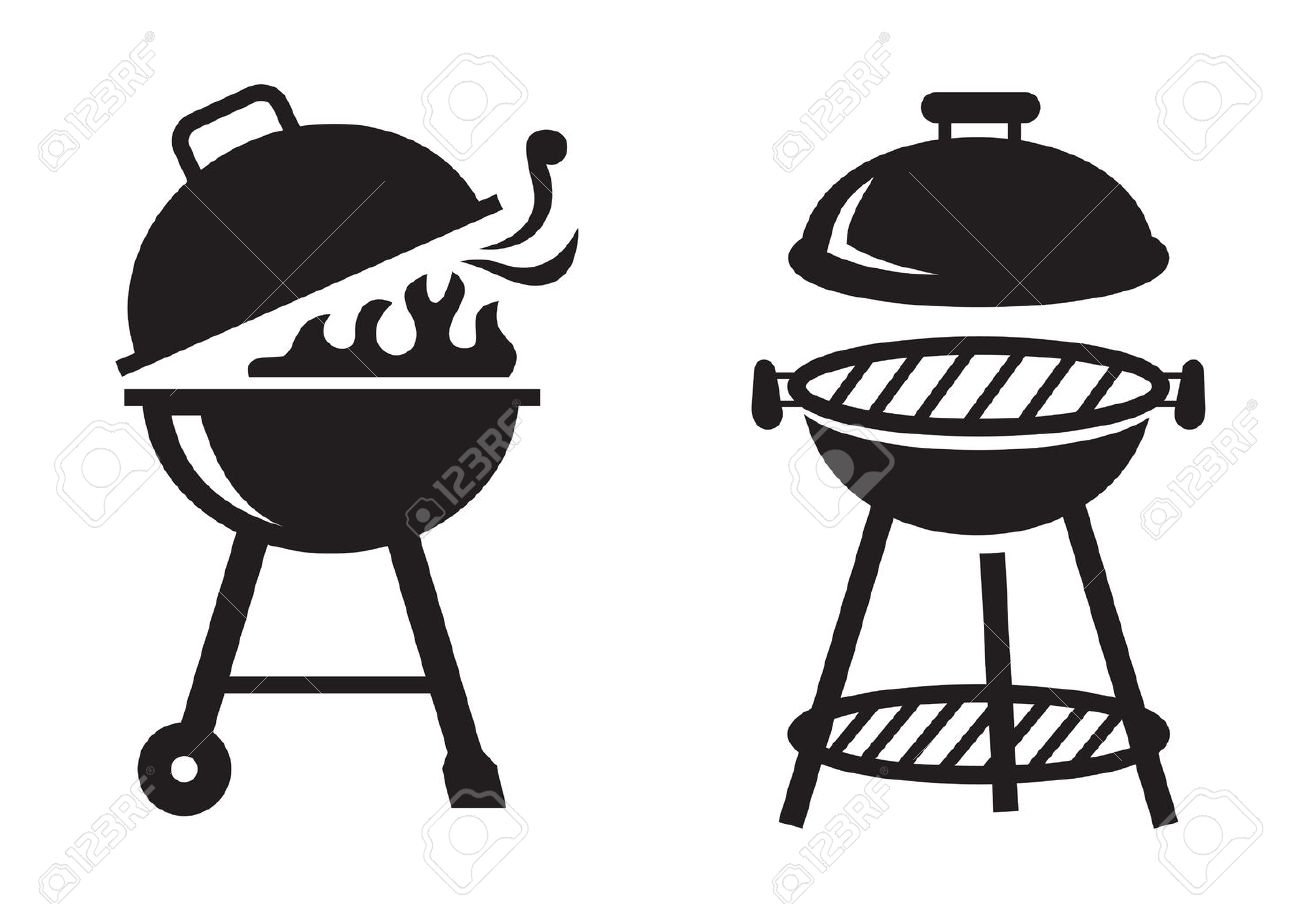 Bbq Grill Clipart Black And White 1 Clipart Station