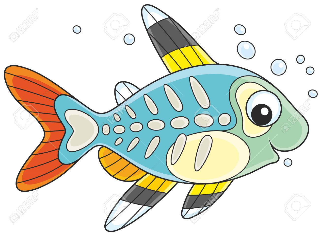 X Ray Fish Clipart 3 Clipart Station