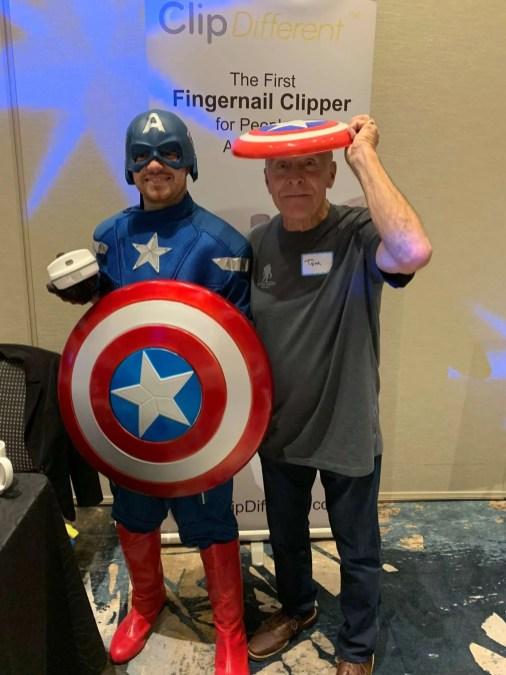 Captain America & Tom