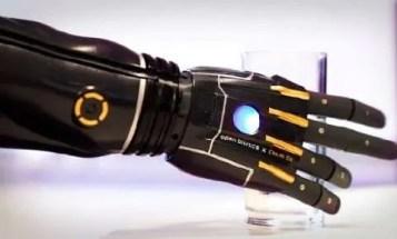 Open Bionics Holding Glass