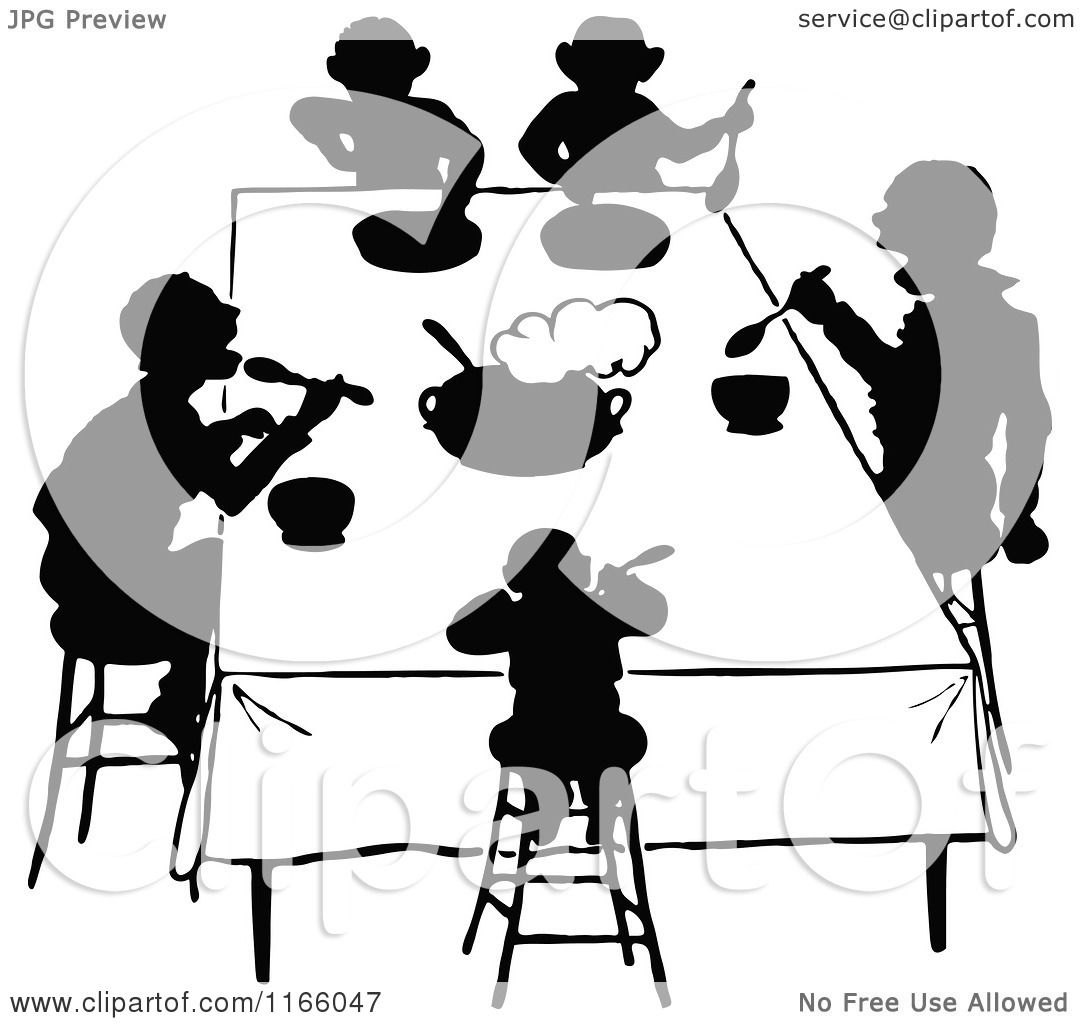 2 People Behind A Table Clipart 20 Free Cliparts