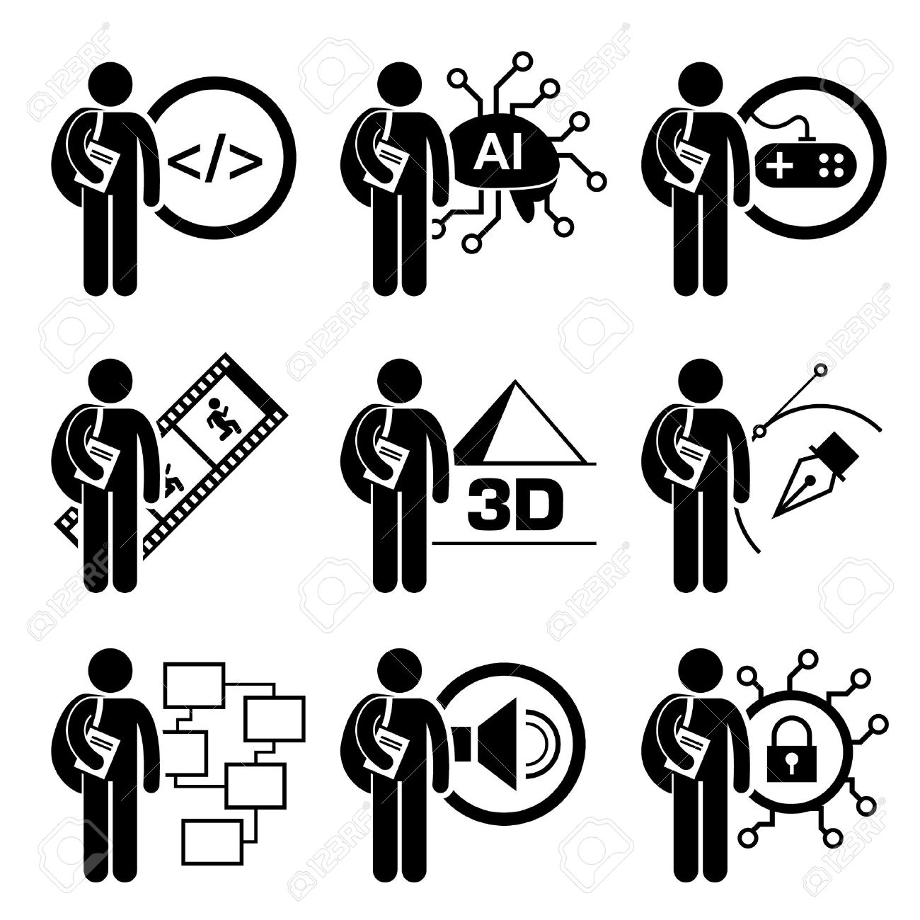 Pictogram Clipart 20 Free Cliparts