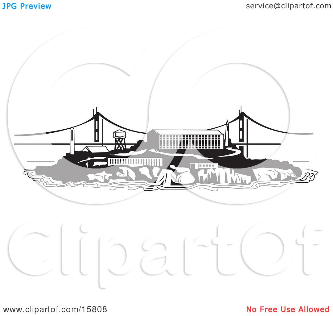 Alcatraz Island Clipart 20 Free Cliparts