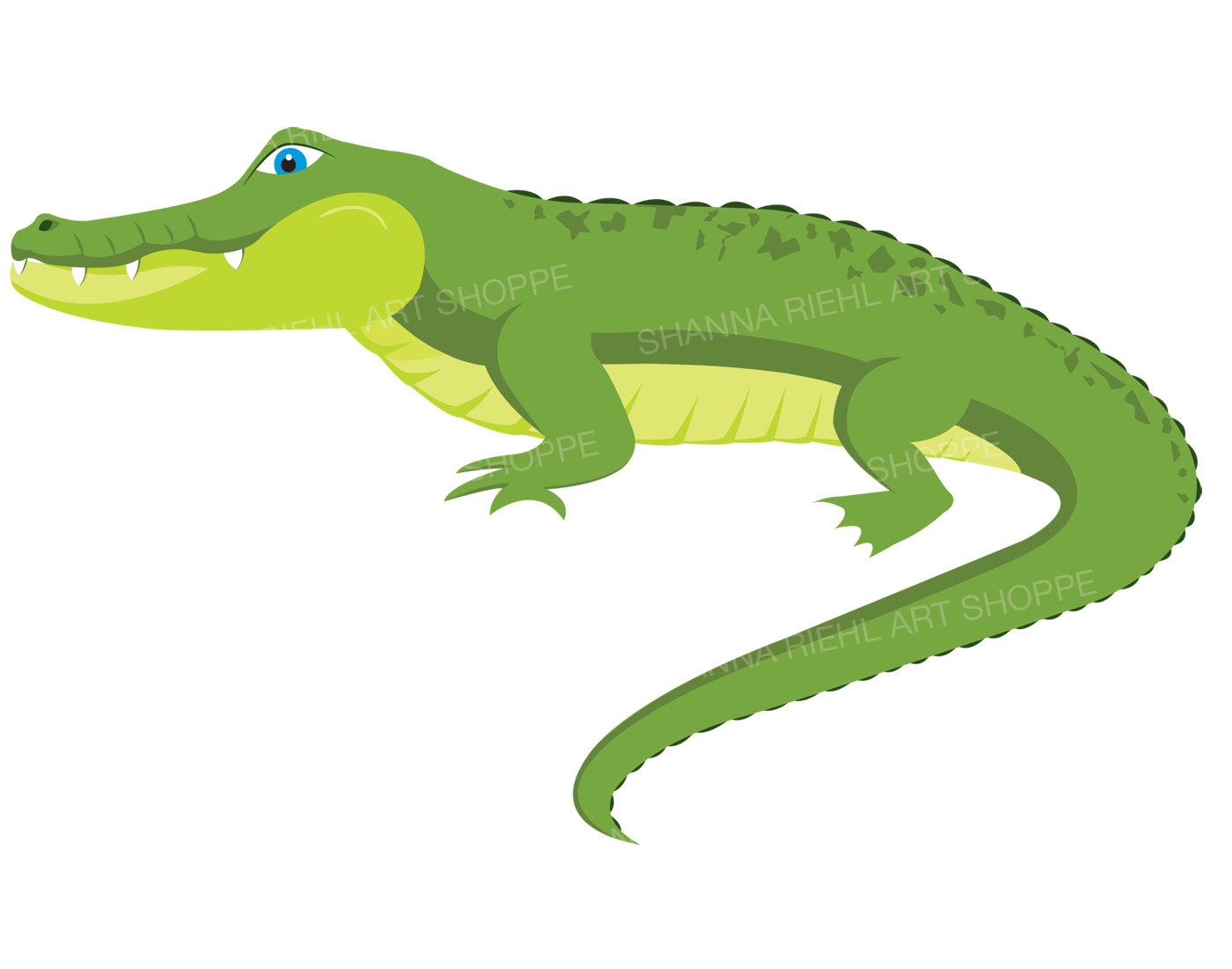 Aligator Clipart