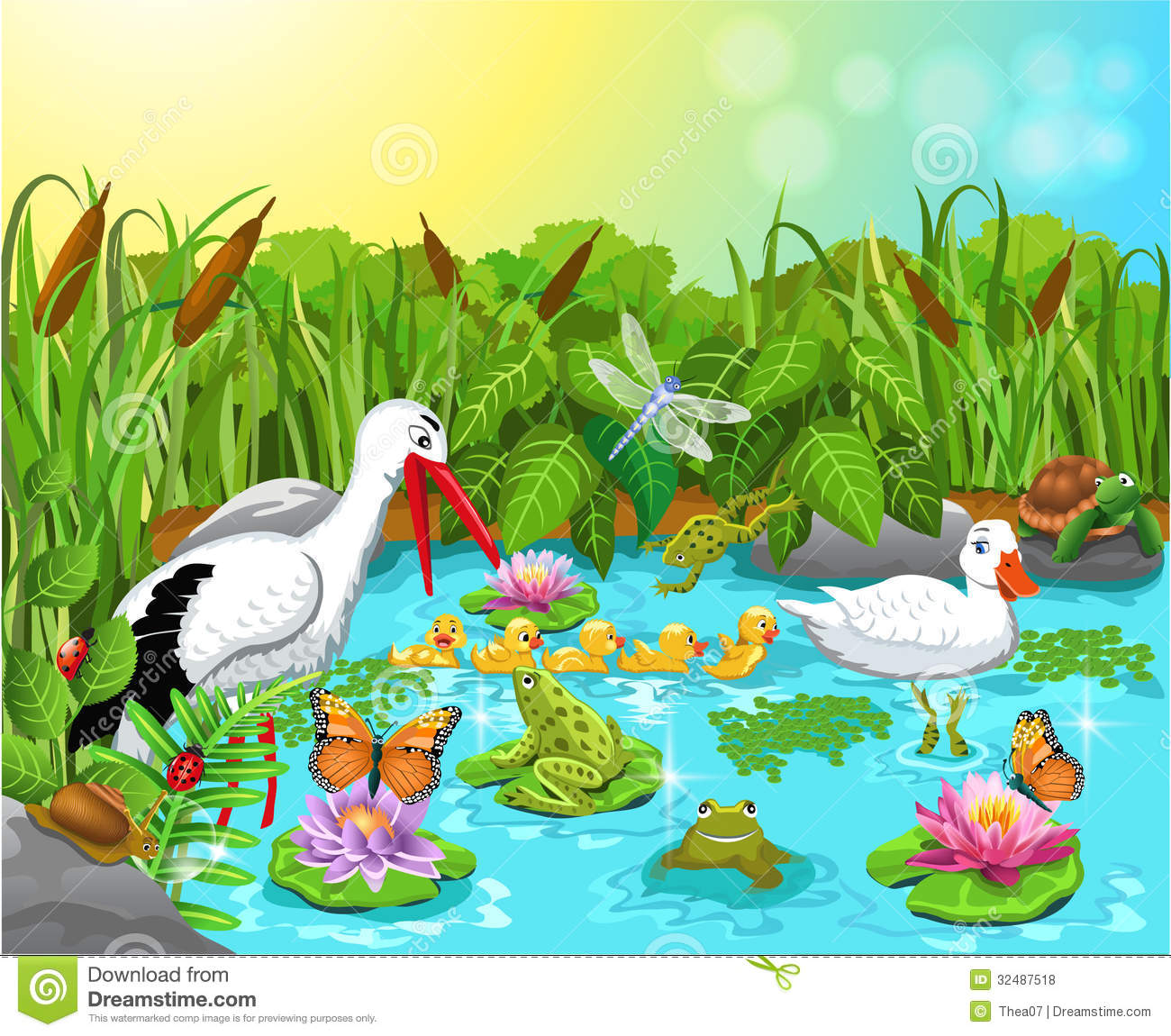 Animal Life Clipart