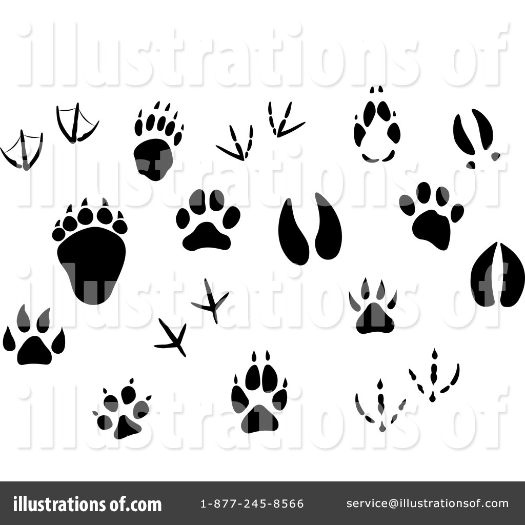 Animal Track Clipart 20 Free Cliparts