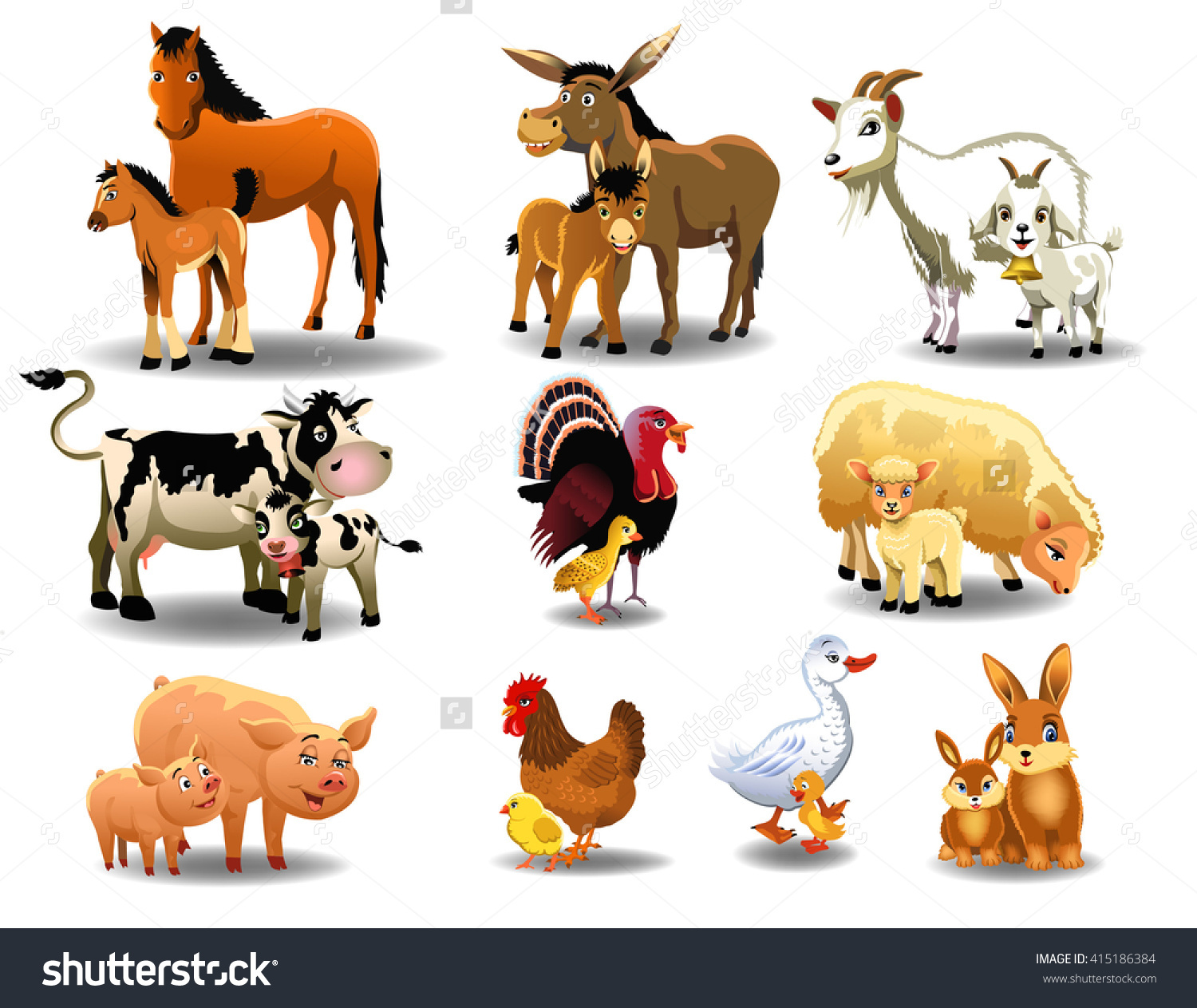 Animal Young Clipart
