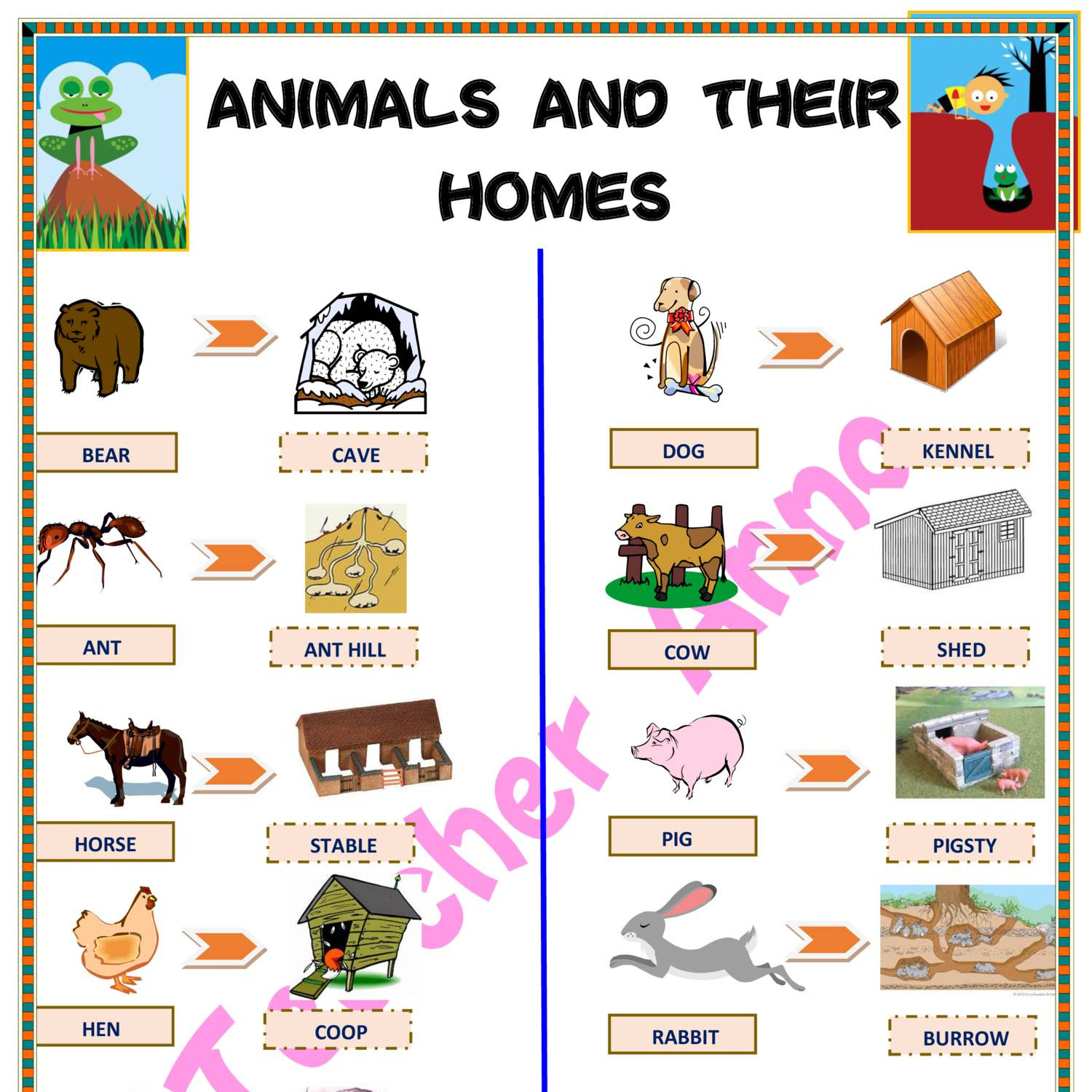 Animals Homes Clipart 10 Free Cliparts