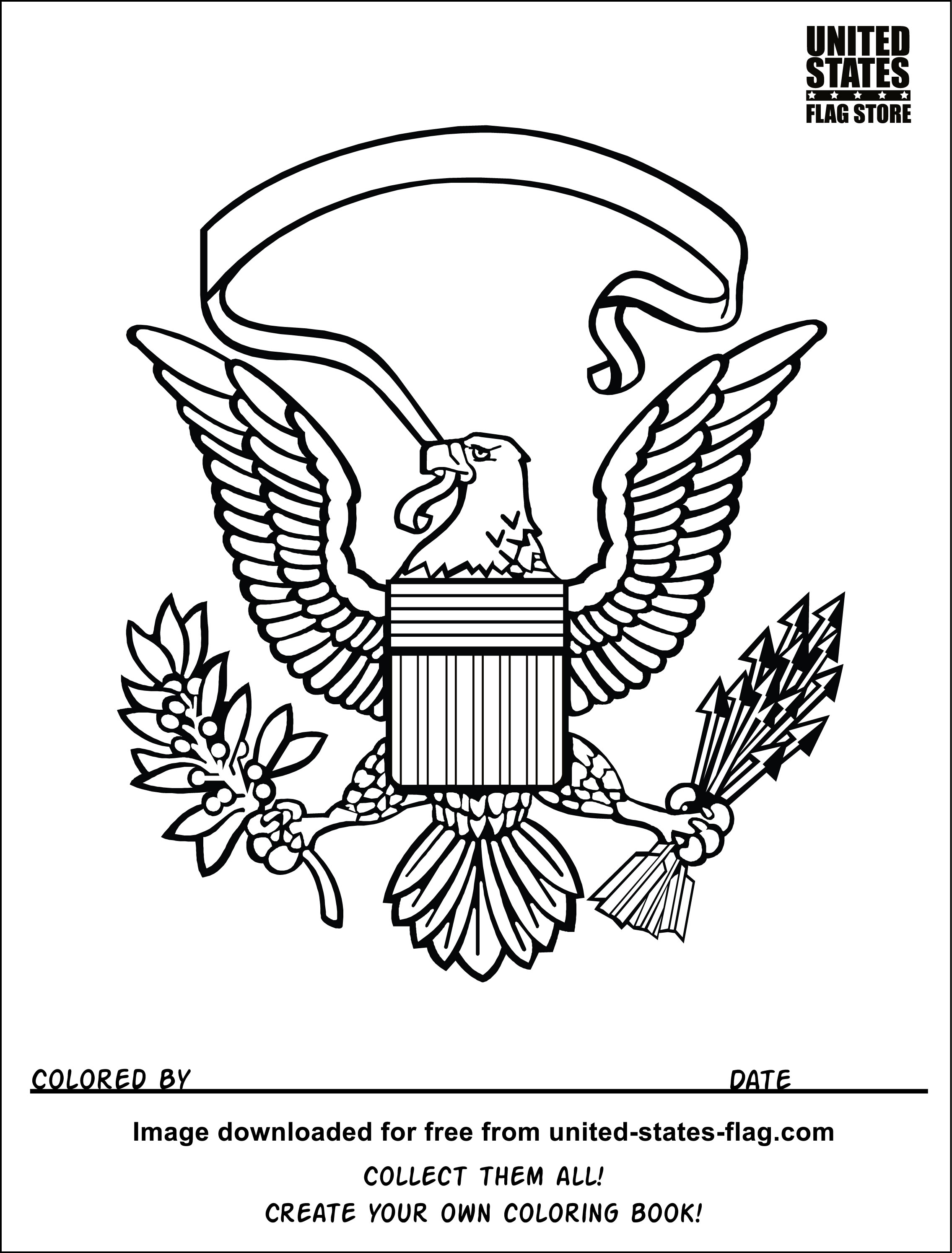 Navy Eagle Clipart