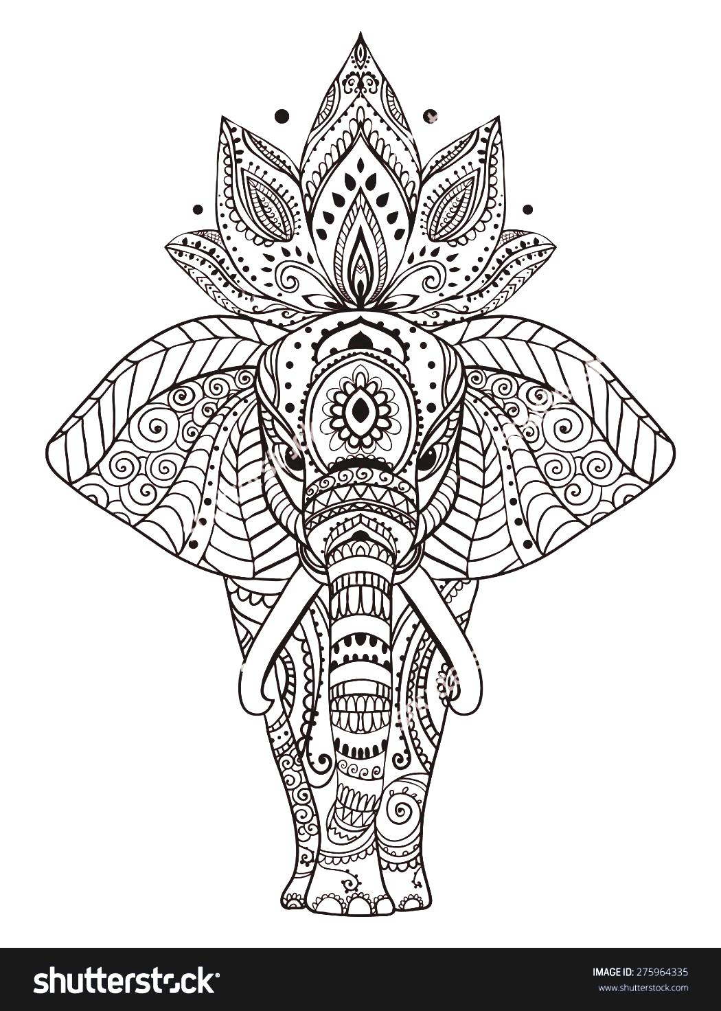 Aztec Elephant Clipart 20 Free Cliparts